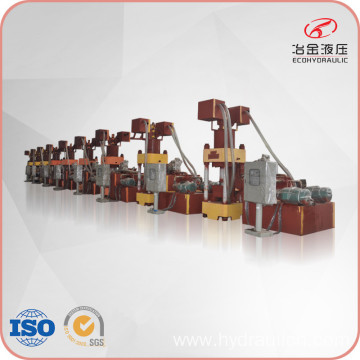 630ton Press Force Metal Scrap Block Making Machine