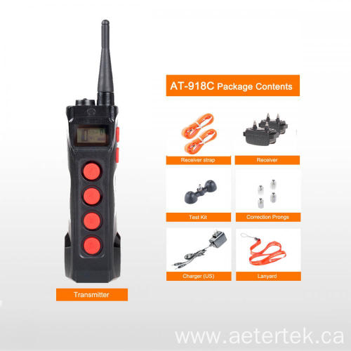 Aetertek AT-919C-2 1000M Remote Shock collar