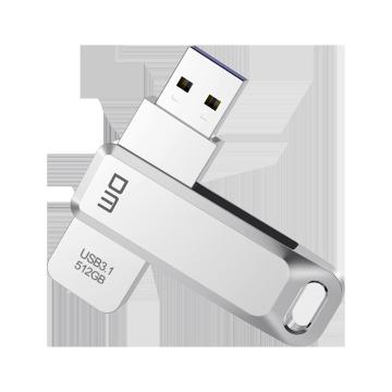 USB Flash drive USB3.1 high speed PD169 64GB 128G 256G 512G slide metal usb read speed upto 60-120mb/s