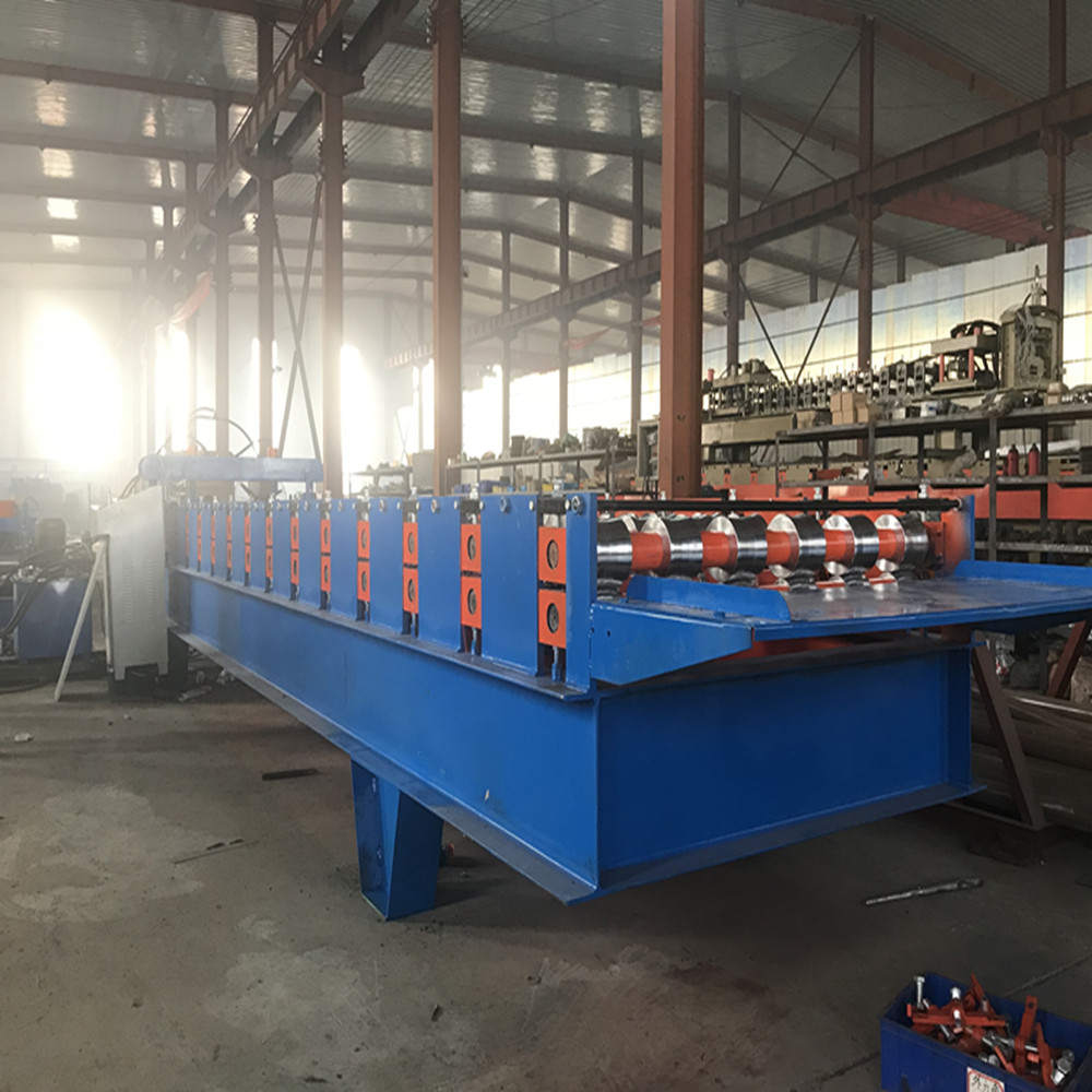 steel rolling roofing sheet making machine