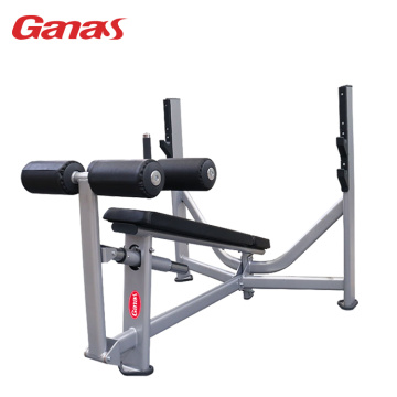 Commercial Gym Exercise Equipment Olympic Down Ramp Bench