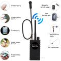Upgrade G328B RF Signal Detector Wifi GPS Bug Mini Anti Spy Hidden Camera Detector for GSM Tracker Device GPS Radar Radio Find