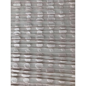 Dot Pleated Mesh Fabric