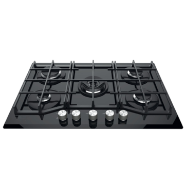 5 Burner Hob Ariston Tempered Glass