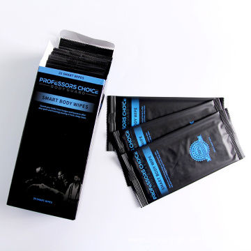 Custom 20PCS Different Style Gym Cleansing Wipes