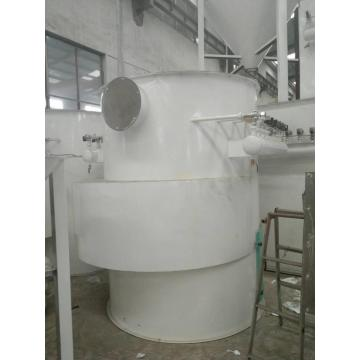 Coconut shell charcoal dust collector