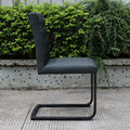 European market Leather dining chair
