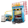 Heavy-duty Scrap Metal Sheets Plates Rebar Guillotine Shear