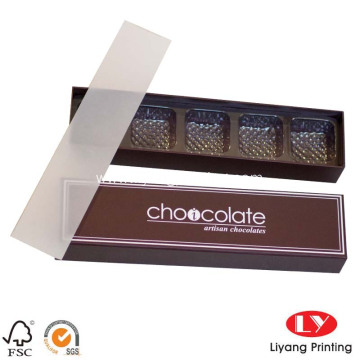 Paper gift high quality chocolate packaging box