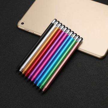 10 Colors Round Stylus Pen Dual Tips Capacitive Stylus Touch Screen Drawing Pen for Phone iPad Smart Phone Tablet PC Computer