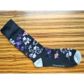 Long Warm Printed Socks