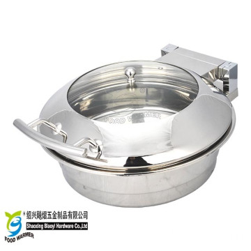 Small Round Induction Buffet Chafing Dish Chafer