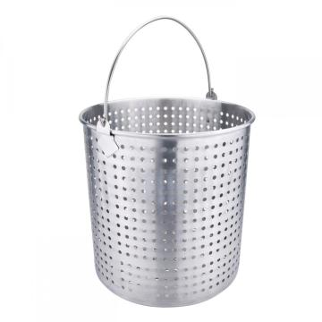 100Quart Stainless Steel Stock Pot with Basket