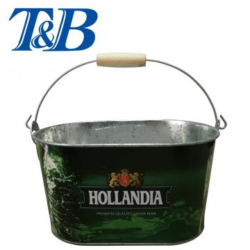 Metal cold tin pail for sale