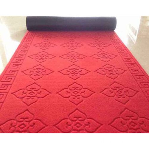 Wholesale embossed customized size nonslip polyester mats