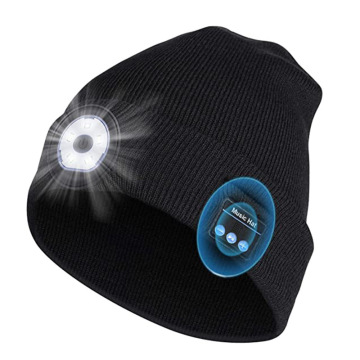 Beanie Hat mit Led Light für Running Ride