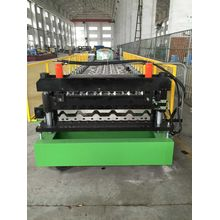 double layer corrugated sheet forming machine