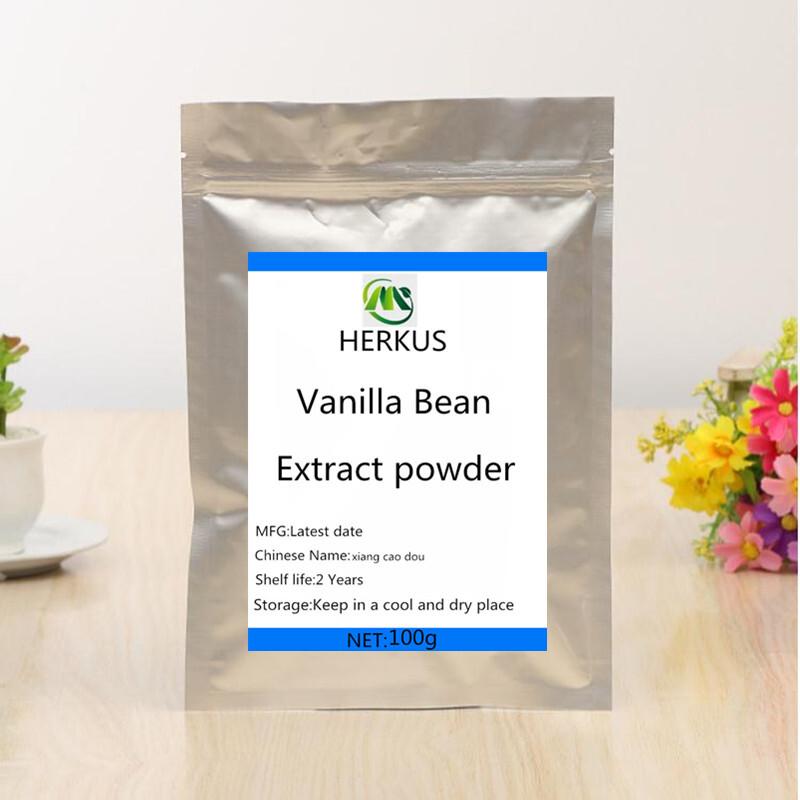 Best selling natural organic pure vanilla bean extract powder, vanilla bean extract powder, high quality, free shipping