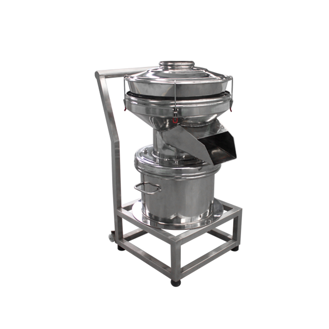 450 vibrating filter for liquid materials