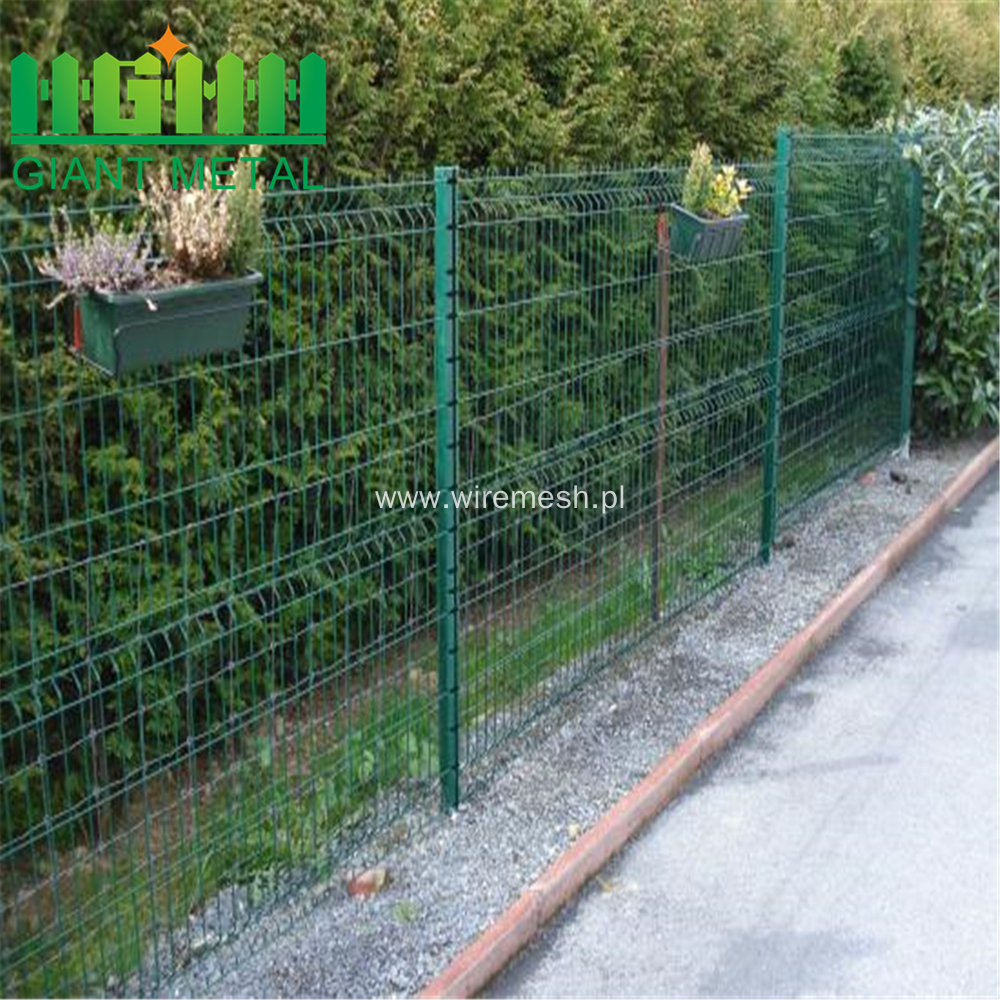 Galvanized or Powder Coated Triangle Banded Fence