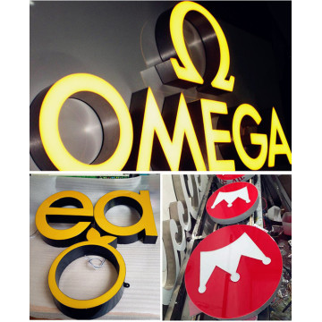Customizable LED Sign Epoxy Resin Signage