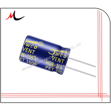 HGN series 2.2UF 50V 4*7 Small size capacitors