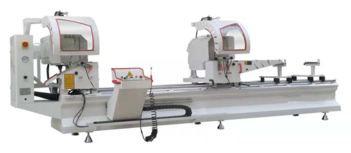 Aluminum cutting saw