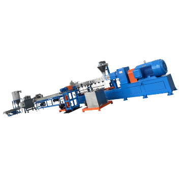 Clamshell Barrel Twin Screw Extruder Powder Coating