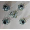 Zinc plated 4 Pronged tee nuts