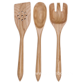 Wooden kitchen tool set for nonstick