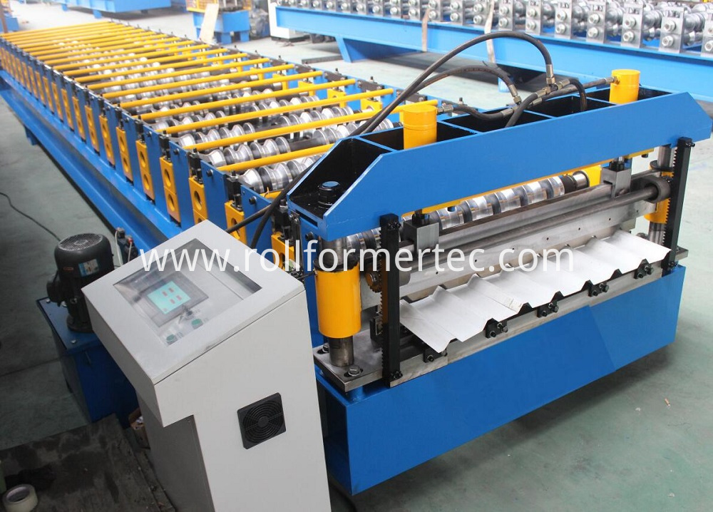 roofing panel roll forming machine 6