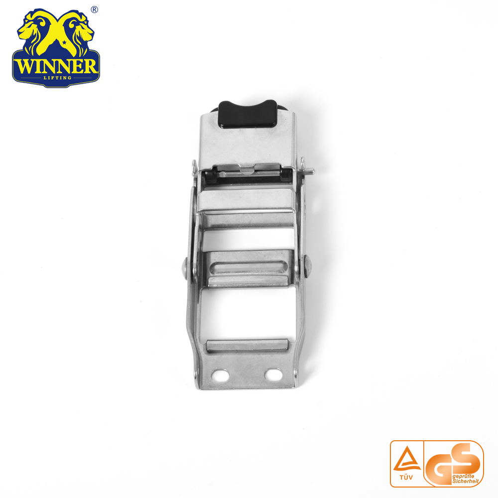 "2"" High Quality Stainless Steel Overcenter Buckle"