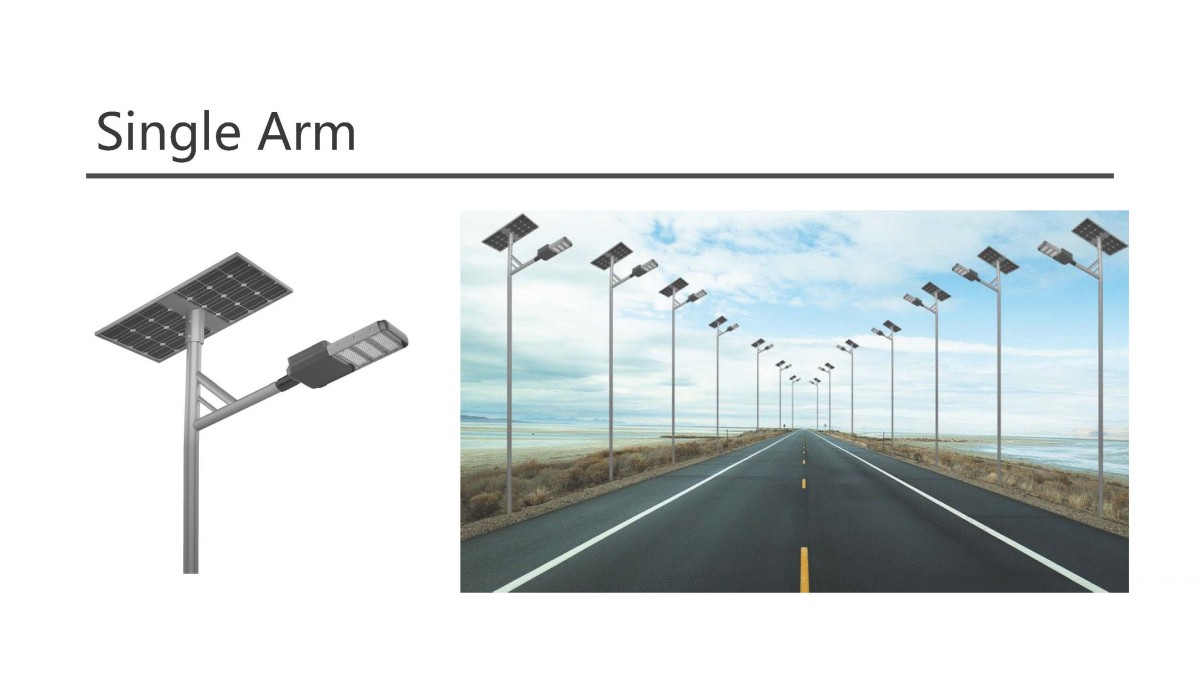 all in one led solar street light
