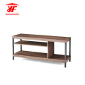 Pine TV stand with showcase up to 42'