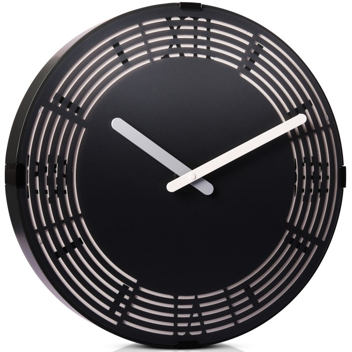 wall clock with glow in dark