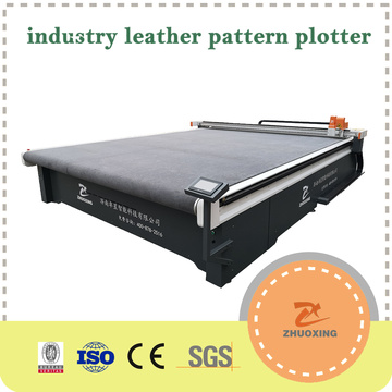 Industrial Leather Cutting Machine For Pattern Making 3040