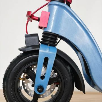 Custom Flodable Yellow Kids Electric Scooter