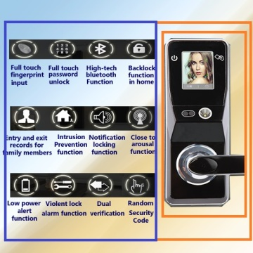 US standard intelligent lock