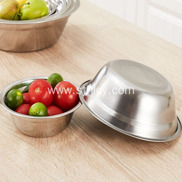 Stainless Steel Soup Bowl Household Deep Wash Basin