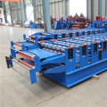 Double Decking Steel Roofing Roll Forming Machine