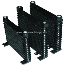 32mm Thick Black Engine Racing Auto Oil Cooler