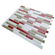 Smart self-adhesive peel and stick vinyl tile
