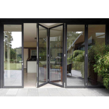 Lingyin Construction Materials Ltd House building aluminium folding sliding glass doors Interior Apartment Door