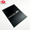 High quality custom logo presentation folder office