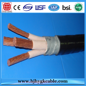 3×120+1×70 0.6/1 kV XLPE insulated power cable