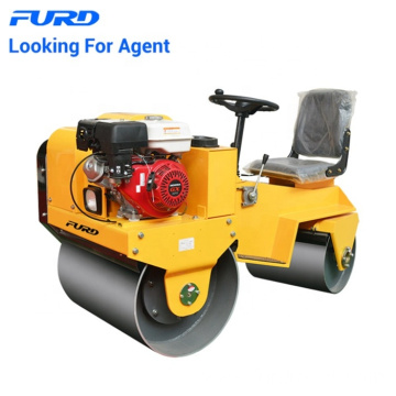 Small Vibratory Road Construction Roller With 700kg Weight