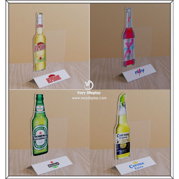 Customized Table Top Acrylic Sign Holder for Restaurant