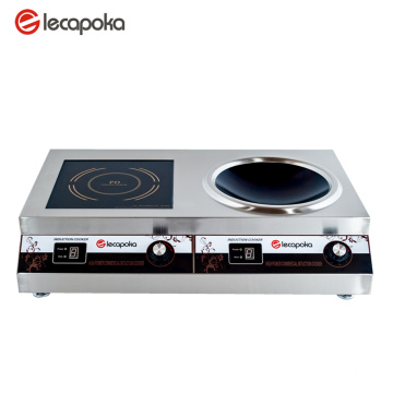 2 Burns Magnetic Induction Cooktop