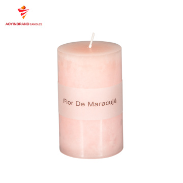 Wholesale colored scented candles aroma votive pillar candle