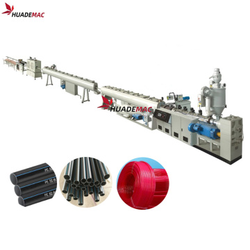 PE HDPE pipe tube production line machine